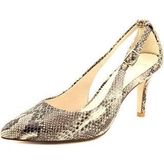Cole Haan Kyle Cut Out Pump II Pointed Toe Synthetic Heels