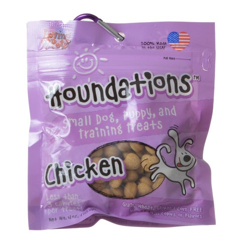 Loving Pets Houndations Training Treats - Chicken 4 oz