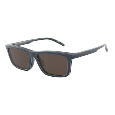 Arnette AN4274 27161W 55 Matte Blue Man Pillow Sunglasses