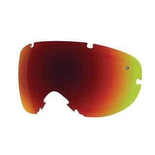 Smith Optics I/O S Goggle Replacement Vaporator Lens - Red Sol-X 2 - IS7DX2