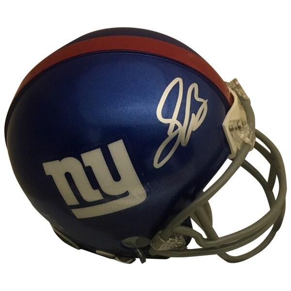 fd50c39d58b Shop Saquon Barkley Autographed New York Giants Signed Football Mini Helmet JSA  COA - Free Shipping Today - Overstock - 26269548