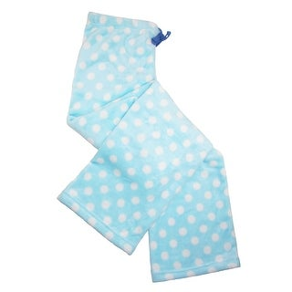 Pajama Drama Women's Plus Size Polka Dot Plush Pajama Pants - 1X
