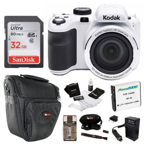 Kodak Pixpro Astro Zoom AZ421 16MP Digital Camera with 42x Zoom and 32GB Bundle