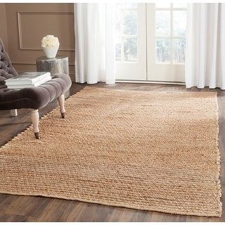 Link to Safavieh Handmade Cape Cod Ermine Coastal Jute Rug Similar Items in Farmhouse Rugs