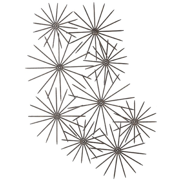 """43"""" Star Overlapping 3D Metal Hanging Wall Art - N/A"""