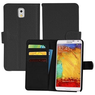 Luxury Magnetic Flip Wallet Leather Case Cover Card Holder For Samsung Note 3