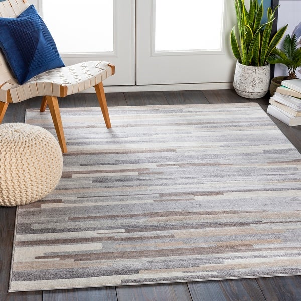 Moe Striped Area Rug. Opens flyout.