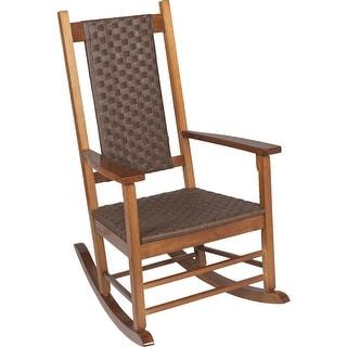 Jack Post Woven Rocker Chair