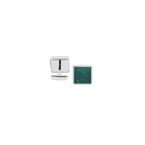 Ravi Ratan Mens T-Shape Cufflinks Mother Of Pearl Square