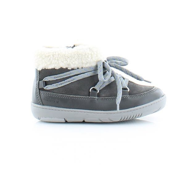 Boys Clarks Maxi Take Fst Leather Casual First Walking Shoes