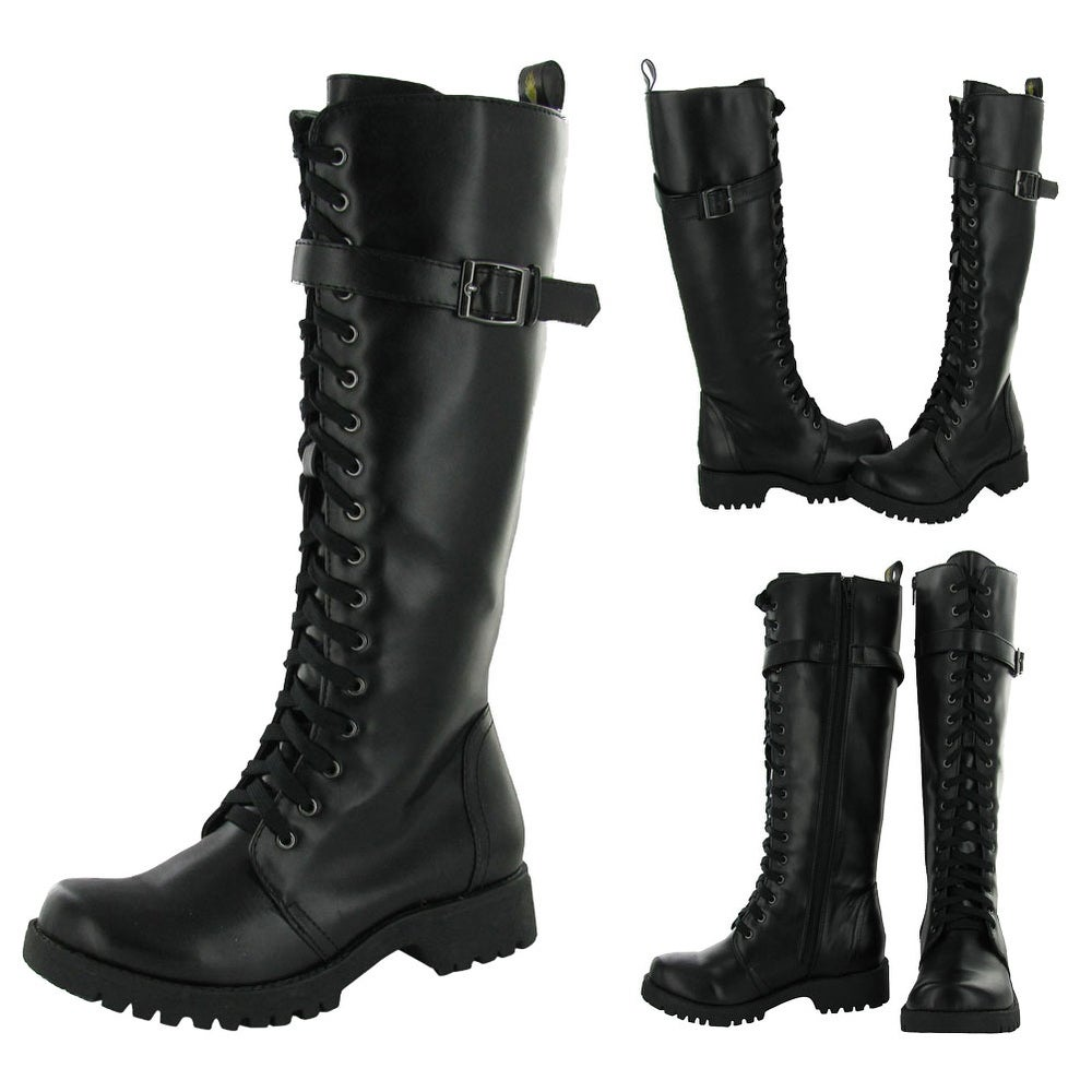 Cheap Leather Womens Boots