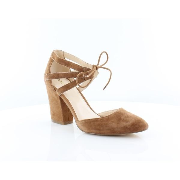 Nine West Sabiniano Women's Sandals & Flip Flops Dknatur - 9.5