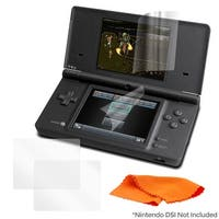 Memorex Universal Screen Protector & Microfiber Cloth for Nintendo Dsi