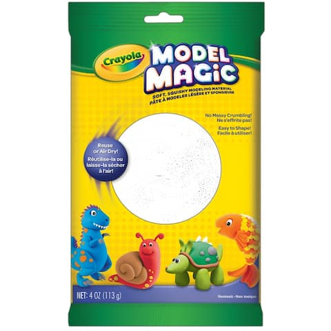 Crayola model magic 4oz white 4401