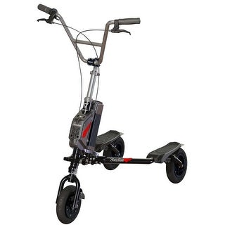 Trikke Freedom V Handlebar Cruiser Black with 36V Battery/Charger Scooter