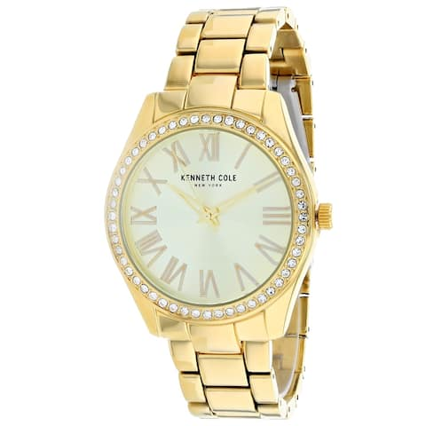 Kenneth Cole Women's Classic Gold Dial Watch - KC50664001 - One Size
