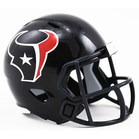 Houston Texans Helmet Riddell Pocket Pro Speed Style