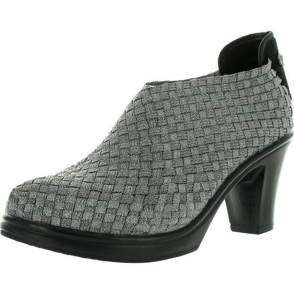 "Bernie Mev Chesca Ladies Black Woven Shoe 3/"" Heel Sizes 38,39,40 BNIB E Chesca"