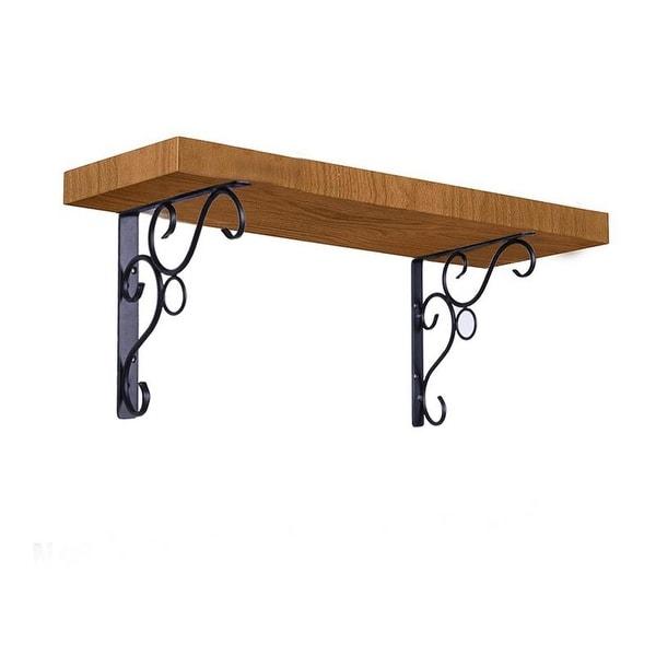 Heavy Duty Iron Decorative Shelf Bracket Patio Garden Ornate Pair Multi Style. Opens flyout.