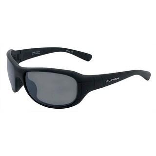 Switch AXO Matte Black Polarized TC Grey Sliver Interchangeable Sunglasses