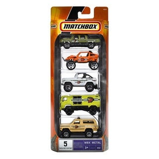 Matchbox Car Set - 5 Pack