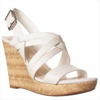 Jessica Simpson Julita Wedge Sandals - Powder