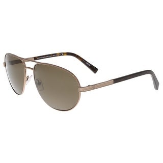 Ermenegildo Zegna EZ0011/S 34M Ruthenium and Tortoise Aviator Sunglasses - 62-16-140