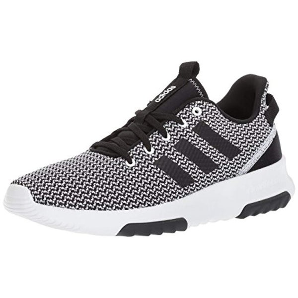 7218e4c586 Adidas Men's Cf Racer Tr Hiking Shoes, Black/White, (12 M Us)