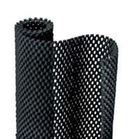 "Con-Tact 04F-C6L51-06 Premium Grip Shelf Liner, 12""x4', Black"