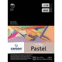 "Assorted Colors 24 Sheets - Canson Mi-Teintes Pastels Paper Pad 9""X12"""