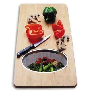 CI CB 650 Bamboo Over-the-Sink Cutting Board for Zephyr Sink