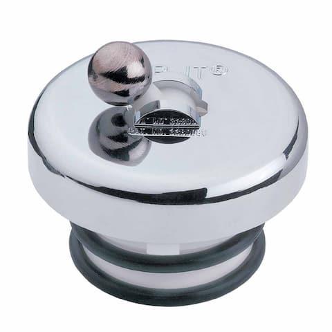 Bathtub Drain Stopper Chrome Brass Ball Flip Top