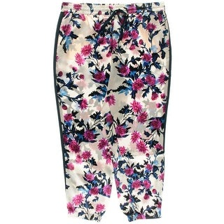 Juicy Couture Black Label Womens Silk Gossamer Harem Pants - XL