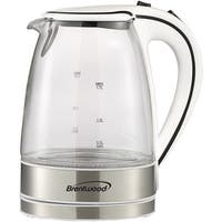 Brentwood Kt-1900W Glass Electric Kettle, 1.7 Liter