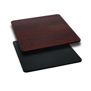 "30"" Square Table Top with Natural or Walnut Reversible Laminate Top"