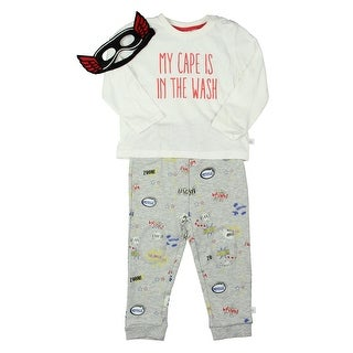 Rosie Pope Baby My Cape is in the Wash Two-Piece Pajamas Infant Boys Superhero