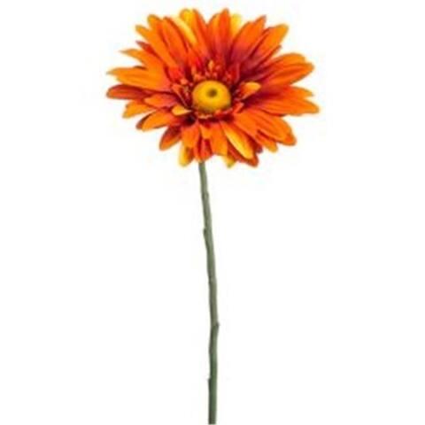 Allstate Floral FSD899-OR 39 in. Jumbo Gerbera Daisy Spray Orange - Pack of 6