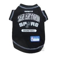San Antonio Spurs Pet T-Shirt - Medium