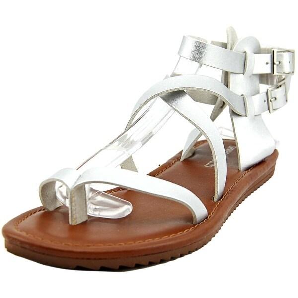 Seven Dials Sync Women  Open Toe Synthetic Silver Gladiator Sandal