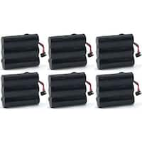 Replacement Battery For AT&T EL42108 / EL42408 Phone Models (6 Pack)