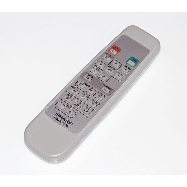 OEM Sharp Remote Control Originally Shipped With: PGA10SSL, PG-A10S-SL, PGA10X, PG-A10X