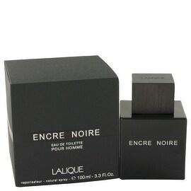 Encre Noire by Lalique Eau De Toilette Spray 3.4 oz - Men
