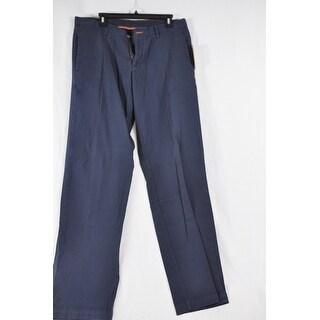Tommy Bahama Dark Blue Khaki 32X34 Pima Cotton Mens Dress Pants