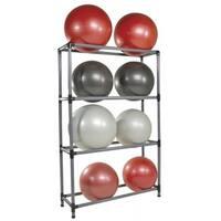 Power Systems 92522 16 Stability Ball Storage Rack