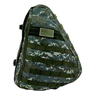 Tactical Sling Pack - Blue Digital Camo