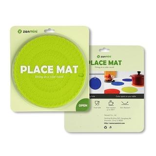 zanmini Set of 4 Silicone Hot Pad Food Safe Place Mat