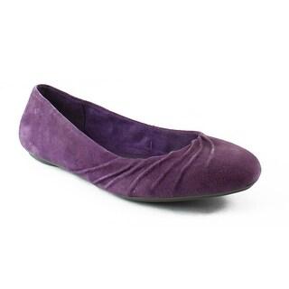 Hush Puppies Womens Zellachaste Plum Ballet Flats Size 6