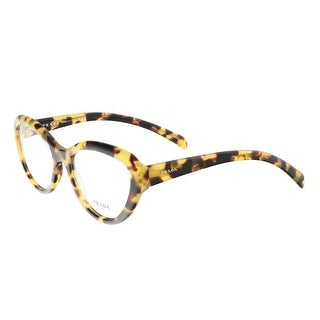 Prada PR 25RV 7S01O Tortoise Cateye Journal Optical Frames - 54-18-140
