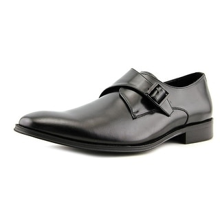 Kenneth Cole Reaction Sit-Up Men  Round Toe Leather Black Loafer