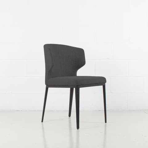 Cabo Mid-century Modern Upholstered Wingback Chair - Contract Grade